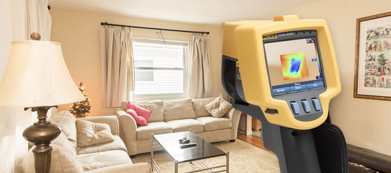 Get a thermal (infrared) home inspection from Be Squared Home Inspection